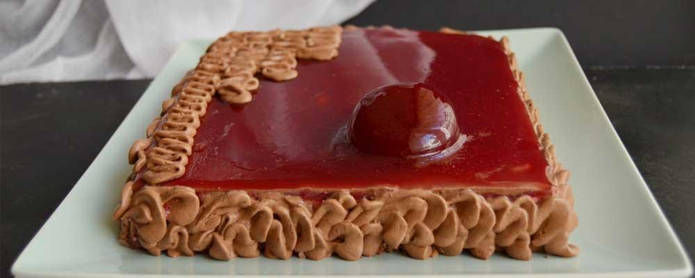 Tort fara gluten cu visine