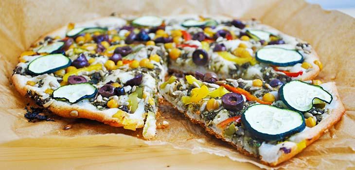 Pizza fara gluten oriental