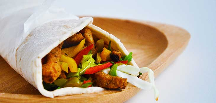 Shaorma vegetariana reteta