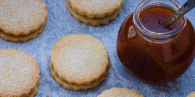 Biscuiti fara gluten cu gem