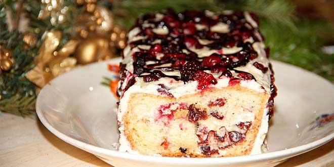 Blueberries Night Cake