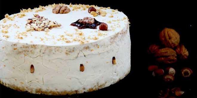 Tort fara gluten cu aroma de sarbatoare si samburi de jir