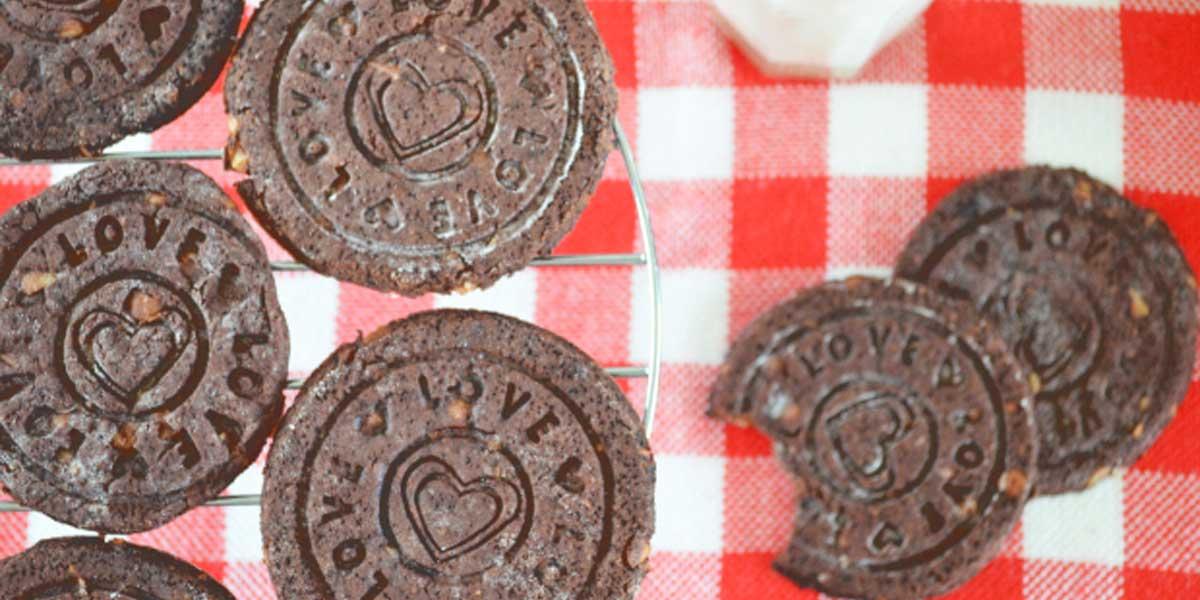 biscuiti fara gluten cacao