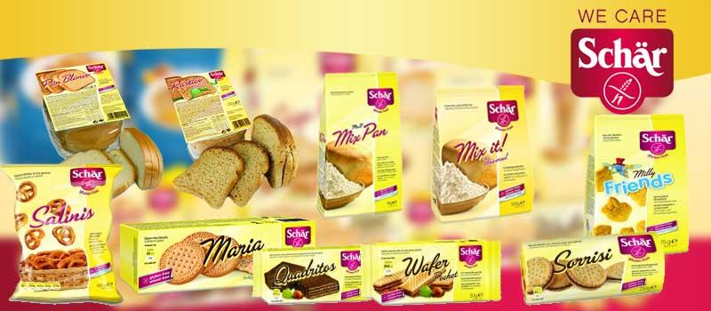 Produse fara gluten Schar in magazinele Auchan