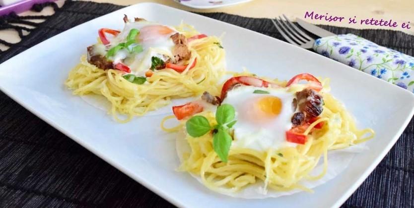 Cuib de spaghete fara gluten