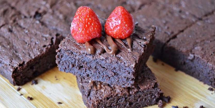 Negresa fara gluten cu ciocolata