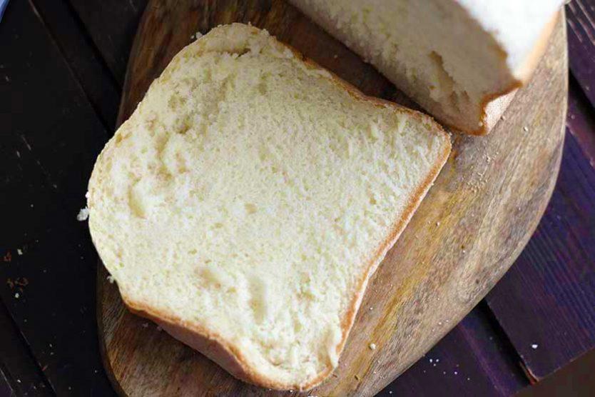 paine fara gluten alba felie