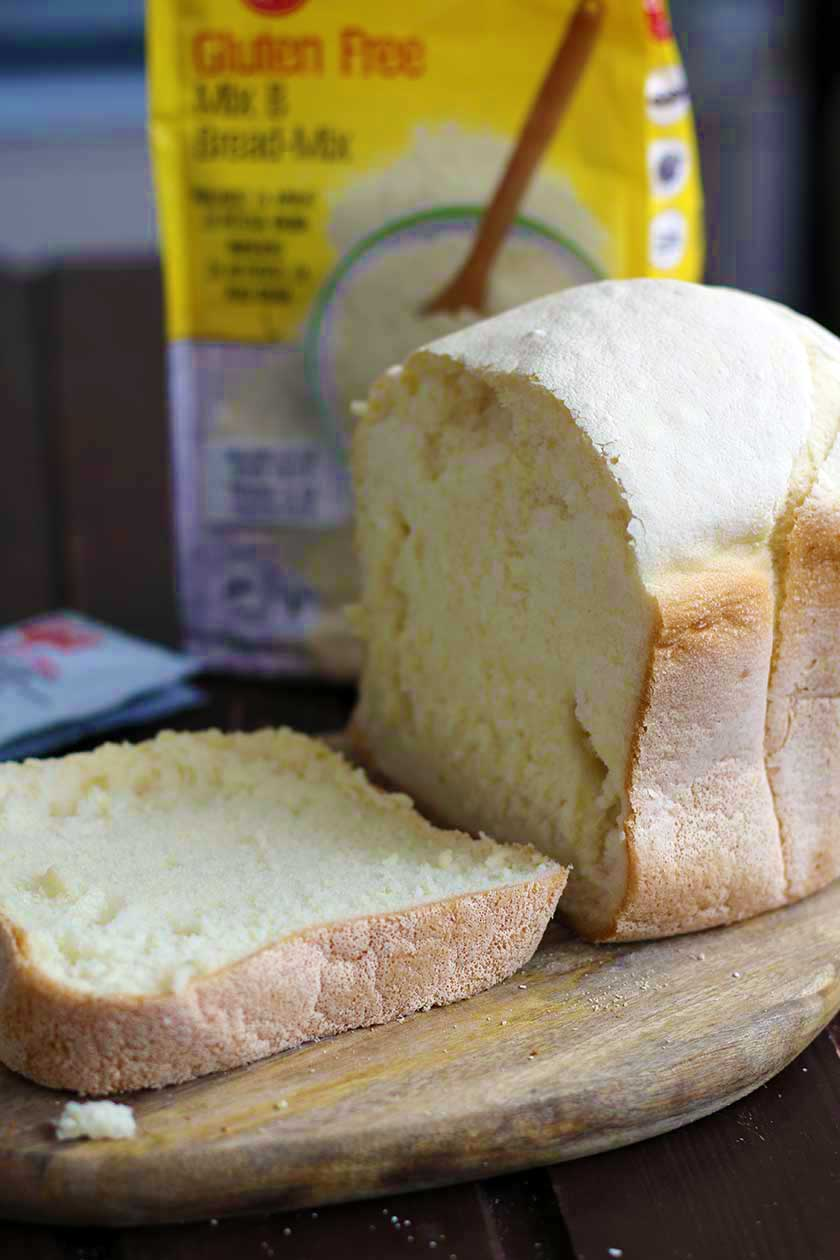 paine fara gluten alba pufoasa