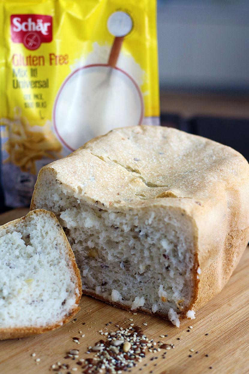 Reteta de paine fara gluten alba cu seminte FELIATA