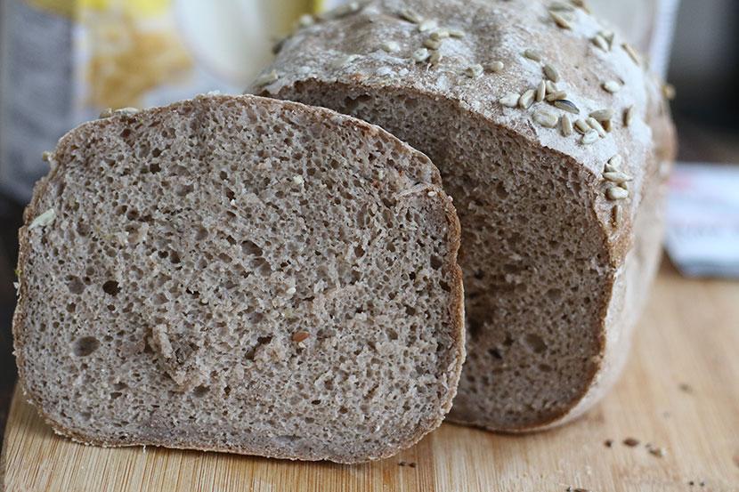 Reteta de paine fara gluten mixta feliata