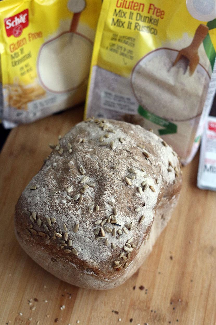 Reteta de paine fara gluten mixta seminte
