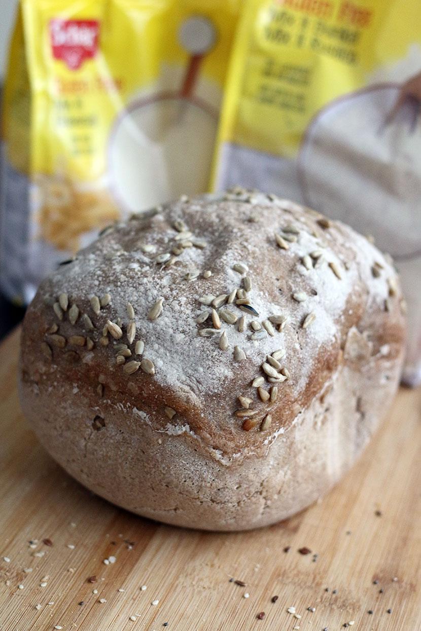 Reteta de paine fara gluten mixta
