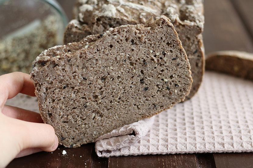 Reteta paine fara gluten integrala masina de paine