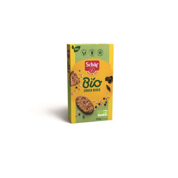 Cookies fara gluten ECO ovaz ciocolata 105g Bisco