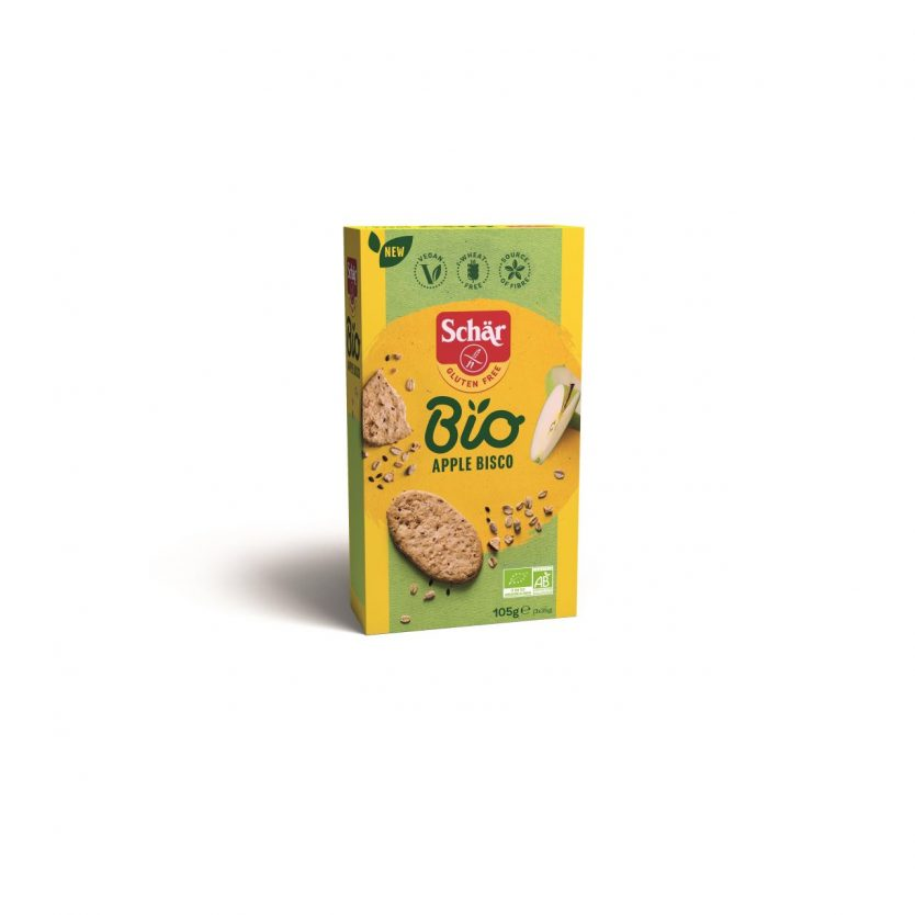 Cookies fara gluten ECO ovaz mar 105g Bisco