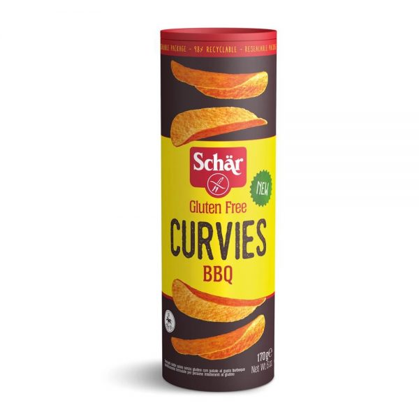 Curvies - Chips barbeque fara gluten