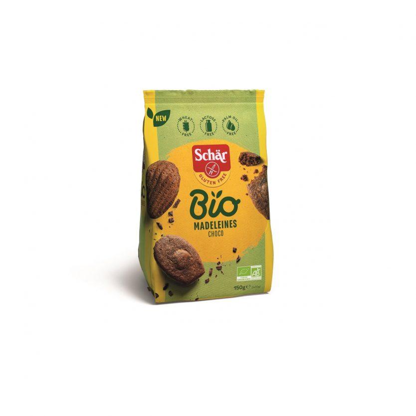 Madeleine fara gluten ECO ciocolata 150g