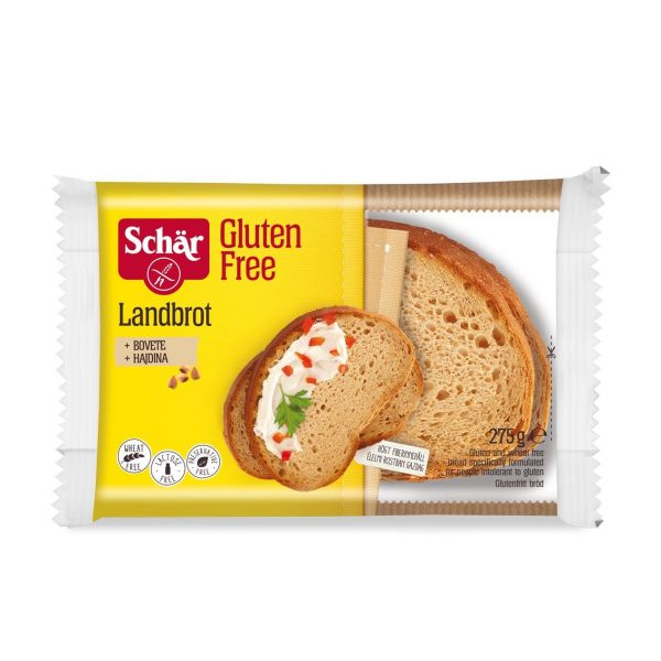 Landbrot - Paine taraneasca fara gluten 275g