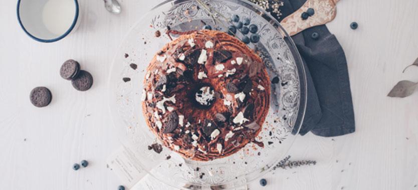 Tort Bundt cu ciocolata