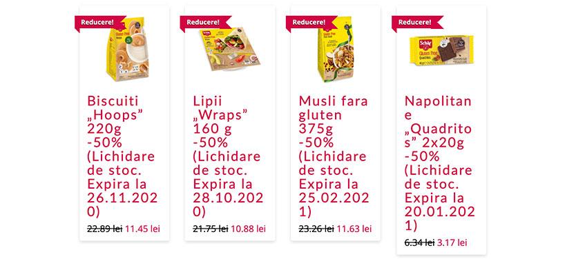 Reduceri de 50% la produse fara gluten Schar