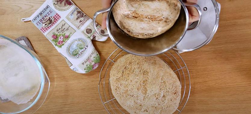 paine fara gluten cu maia