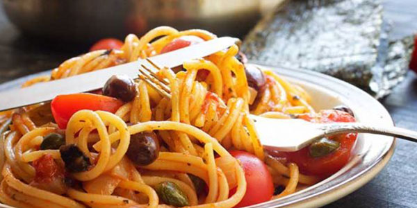 Spaghete alla Puttanesca