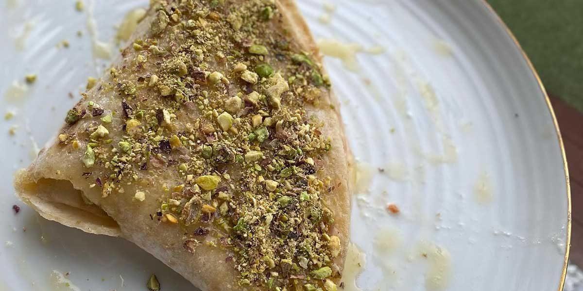 Desert reinterpretat din lipie fara gluten